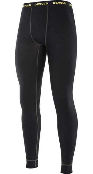 Devold M's Wool Mesh Long Johns Black